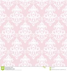 White Pattern Background Unique Damask Seamless Pattern Background Pastel Pink And White Vintage