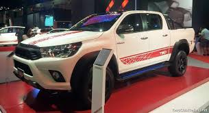 new car 2016 thailandToyota Gives New 2016 Hilux The TRD Sports Treatment