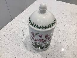 portmeirion botanic garden storage jar excellent condition