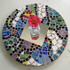 Mosaic Mirror by Sandra Schwartz