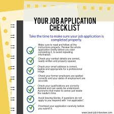 filling out applications best job application tips