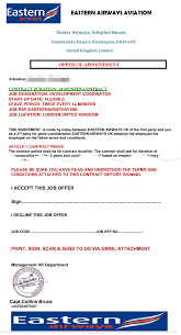 The Job Offer Scam Eastern Airways Scam