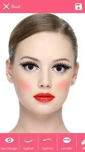beauty selfies makeup editor poster