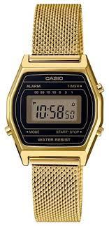 Наручные <b>часы CASIO LA</b>-690WEMY-<b>1</b> — купить по выгодной ...