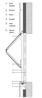 vertical folding window detail google 搜索