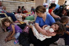 Image result for iraqi christian refugees