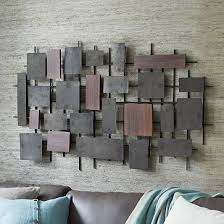wall art metal wood
