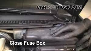 blown fuse check 1998 2004 audi a6 2004 audi a6 3 0l v6 2004 Audi A6 Fuse Box Diagram 6 replace cover secure the cover and test component 2004 audi a6 fuse box location