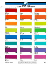 Ppg Vbcs472 Vibrance Ditzler Classics Color Chip Card
