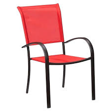 slingback patio chairs home depot sling chairs home depot bay outdoor ruby aluminum sling patio mix