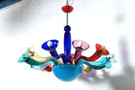 multi colored chandelier chandelier breathtaking colored glass chandelier multi colored gypsy chandelier tree chandeliers