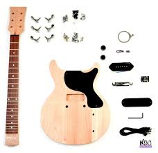 diy lp junior style gany build your own guitar kit gany