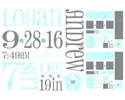 Baby Boy Announcements Templates Free Baby Birth Announcement Template Supavaluebiz Co