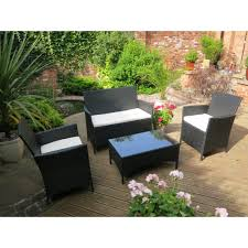 Black rattan 4 piece outdoor sofa set with table p1313 885 image jpg