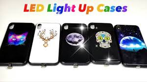Iphone X Led Light Case