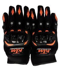 hatkey ktm bike riding hand gloves black