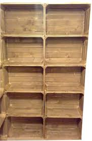 bulk wooden apple crates