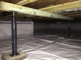image of crawl space foundation repair