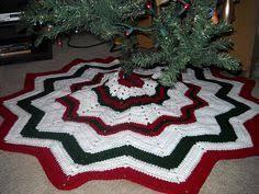 Christmas Tree Skirt Crochet Pattern Inspiration Free Crochet Patterns Free Crochet Christmas Tree Skirt Patterns