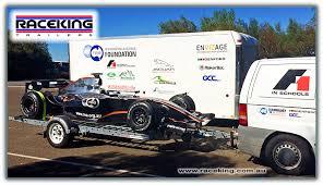 Raceking Race Car Trailers Australia The Perfect Car Trailer For
