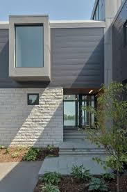 Astounding Home Exterior Design Using Contemporary House Siding Design :  Contempo Home Exterior Decoration Using White