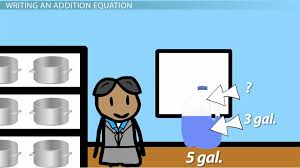 writing solving addition equations with one variable lesson transcript study com