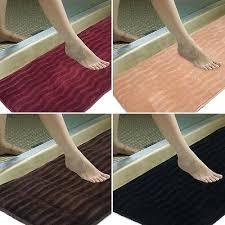 x non slip back rug soft bathroom carpet memory foam bath mat super luxury plush gy