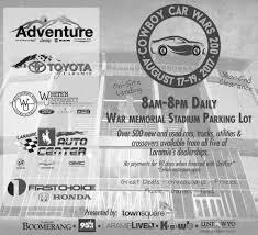 ads for cowboy car wars 200 in laramie wy