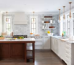 Transitional Kitchen Lighting Subway Tile In Kitchen Transitional With Black 1920s