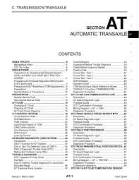 nissan quest automatic transmission section at pdf 2007 nissan quest automatic transmission section at 312 pages
