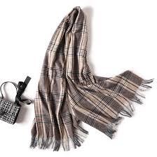 Designer Shawls And Wraps Designer 2019 Women Scarf Fashion Striped Winter Cashmere