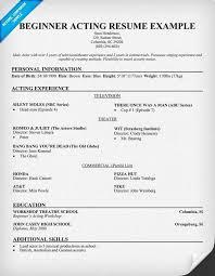 best modeling resume sample beginners gallery best resume - Modeling Resume