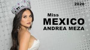 Miss Universe Mexico 2020 - Andrea Meza | Official Photoshoot #2 - YouTube