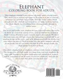 amazon elephant coloring book for s an coloring book of 40 patterned henna and paisley style elephant coloring books for s