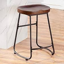 Wooden and metal chairs Patio Ok Furniture Contoured Saddle Seat 24inch Backless Bar Stool Chair For Home Kitchen Island Amazoncom Amazoncom Ok Furniture Contoured Saddle Seat 24inch Backless Bar