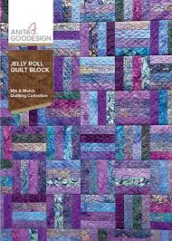 Jelly Roll Quilt Blocks | Anita Goodesign &  Adamdwight.com