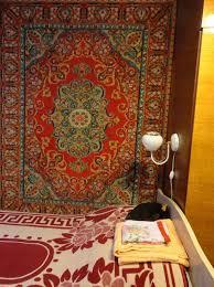 displaying rugs on walls