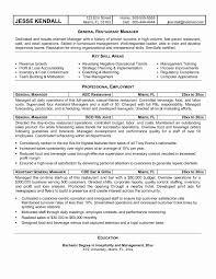 Inspirational Cafe Worker Sample Resume Resume Sample