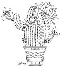 Cactus To Color With Color Therapy Try This App For Free Get