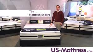 Simmons Beautyrest Recharge Hybrid Green Lake Plush Mattress YouTube