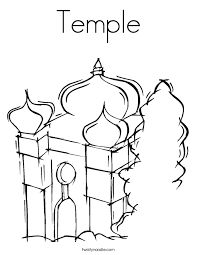 Small Picture Temple Coloring Page Twisty Noodle