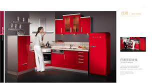 Kitchen Cabinets Painted Red Red Lacquer Kitchen Cabinets Monsterlune