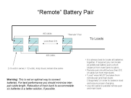 battery bank wiring diagrams 6 volt 12 volt series and 12battery connections remote pair