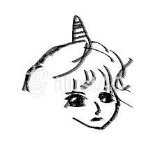 鬼の女の子アイコンイラスト No 328515無料イラストならイラストac