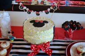 Minnie Mouse Birthday Party Theme Goldstar Glitter