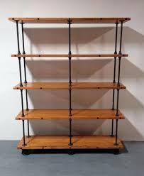 iron pipe shelf custom made industrial iron pipe storage shelf black iron pipe shelf kit iron pipe shelf