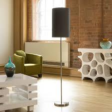 modern designer standard floor lamp lamps large slate grey shade 845