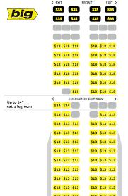 Spirit Airline Plane Seating Chart Www Bedowntowndaytona Com