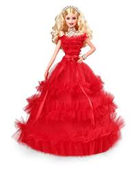 barbie 2018 holiday doll blonde