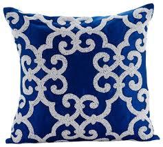 Cobalt Blue Pillow Covers